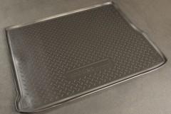 Коврик в багажник для Renault Scenic '09-, полиуретановый (NorPlast) черный