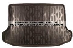 Коврик в багажник для Daewoo Matiz '01-, полиуретановый (Aileron) черный