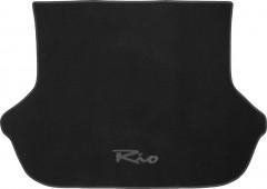 Коврик в багажник для Kia Rio '00-05 хетчбэк, текстильный черный