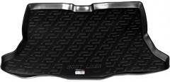 Коврик в багажник для Nissan Tiida '05-14 хетчбэк, резино/пластиковый (Lada Locker)