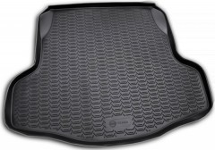 Коврик в багажник для Nissan Teana '08-14, полиуретановый (Novline / Element) черный