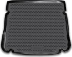 Коврик в багажник для Chevrolet Cruze '11- хетчбэк, полиуретановый (Novline / Element) черный