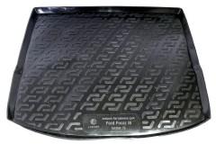 Коврик в багажник для Ford Focus 3 (III) '11- универсал, резино/пластиковый (Lada Locker)