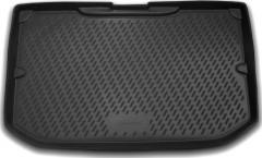 Коврик в багажник для Nissan Note '06-13, полиуретановый (Novline / Element) черный CARNIS00008