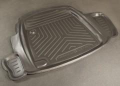 Коврик в багажник для ГАЗ 31105 Волга, полиуретановый (NorPlast) черный