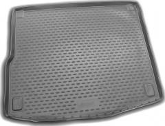 Коврик в багажник для Volkswagen Touareg '10-18 (4-х зонный климат), полиуретановый (Novline / Element) черный