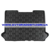 Коврик в багажник для Fiat Doblo Panorama '01-09, полиуретановый (Aileron)
