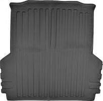Коврик в багажник для Volkswagen Amarok '10-, полиуретановый (NorPlast) черный