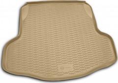 Коврик в багажник для Nissan Teana '08-14, полиуретановый (Novline / Element) бежевый