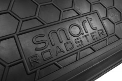 Фото товара 3 - Коврик в багажник для Smart 452 Roadster '03-05, резиновый (AVTO-Gumm)