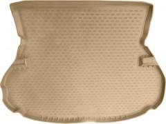 Коврик в багажник для Toyota Highlander '01-07, полиуретановый (Novline / Element) бежевый
