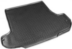 Коврик в багажник для ГАЗ Volga Siber '08-11, полиуретановый (NorPlast) черный