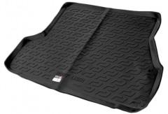 Коврик в багажник для Hyundai Accent '01-05 седан, резино/пластиковый (Lada Locker)
