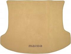 Коврик в багажник для Mazda CX-7 '06-12, текстильный бежевый