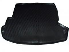 Коврик в багажник для Nissan X-Trail '08-15 (с органайзером), полиуретановый (Novline / Element) черный
