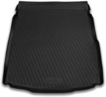 Коврик в багажник для Volkswagen Passat B8 '15- седан, полиуретановый (Novline / Element) черный