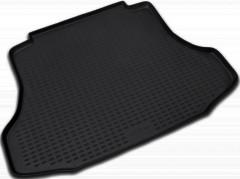 Коврик в багажник для Honda Civic 4D '06-12, полиуретановый (Novline / Element) черный