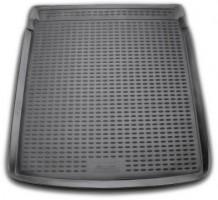 Фото 1 - Коврик в багажник для Volkswagen Passat B7 '10-14 седан, полиуретановый (Novline) черный
