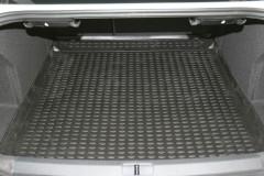 Фото 2 - Коврик в багажник для Volkswagen Passat B7 '10-14 седан, полиуретановый (Novline / Element) черный