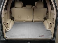 Коврик в багажник для Toyota LC Prado 120 '03-09, резиновый (WeatherTech) серый