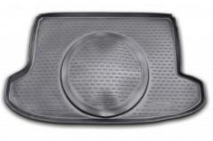 Коврик в багажник для Toyota GT 86 '12-, полиуретановый (Novline / Element) черный