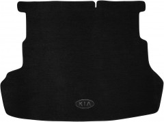 Коврик в багажник для Kia Rio '11-15 седан, текстильный черный