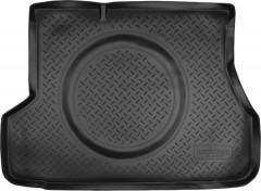 Коврик в багажник для Hyundai Accent '01-05 седан, резино/пластиковый (Norplast)