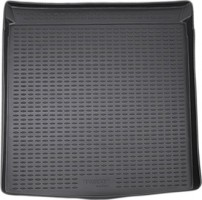 Коврик в багажник для Volkswagen Passat B6 '05-10 седан, полиуретановый (Novline / Element) черный