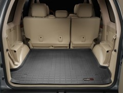 Коврик в багажник для Toyota LC Prado 120 '03-09, резиновый (WeatherTech) черный