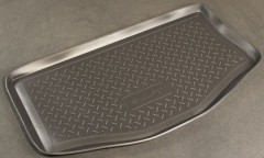 Коврик в багажник для Suzuki Swift '05-09 (верхний), полиуретановый (NorPlast) черный