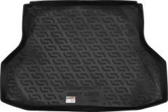 Коврик в багажник для Daewoo Gentra '13- седан, резино/пластиковый (Lada Locker)