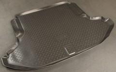Коврик в багажник для Subaru Legacy '10-14, резино/пластиковый (Norplast)