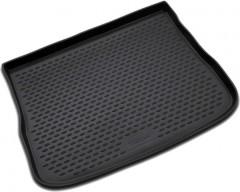 Коврик в багажник для Volkswagen Tiguan '07-16, полиуретановый (Novline / Element) черный