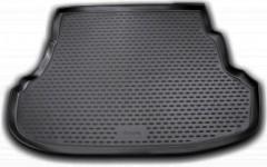 Коврик в багажник для Hyundai Accent (Solaris) '11-17 седан, полиуретановый (Novline / Element) черный EXP.NLC.20.42.B10