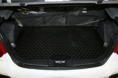 Коврик в багажник для Geely MK / MK Cross HB '11-, полиуретановый (Novline / Element)