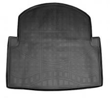 Коврик в багажник для Mercedes E-Class W212 '09-15 (Avantgard), полиуретановый (NorPlast) черный