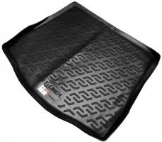 Коврик в багажник для Ford Focus II '08-11 седан, резино/пластиковый (Lada Locker)