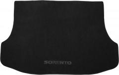 Коврик в багажник для Kia Sorento '03-09 BL, текстильный черный