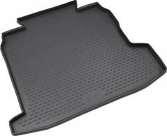 Коврик в багажник для Opel Astra H '07-15, седан, полиуретановый (Novline / Element) черный
