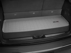Коврик в багажник для Audi Q7 '15-, короткий, резиновый, (WeatherTech) серый