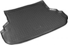 Коврик в багажник для Suzuki SX4 '06-14 седан, полиуретановый (NorPlast) черный