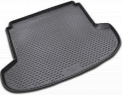 Коврик в багажник для Kia Ceed '06-12 универсал, полиуретановый (Novline / Element) черный