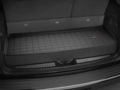 Коврик в багажник для Audi Q7 '15-, короткий, резиновый, (WeatherTech) черный