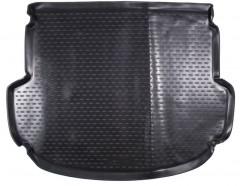 Коврик в багажник для Hyundai Santa Fe '13-17 DM (5 мест), полиуретановый (Novline / Element) черный