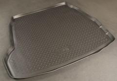 Коврик в багажник для Hyundai Sonata '05-10, резино/пластиковый (Norplast)