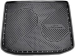 Коврик в багажник для Citroen C4 Aircross '12-, полиуретановый (Novline / Element)
