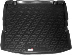 Коврик в багажник для Opel Zafira B '05-13, резино/пластиковый (Lada Locker)