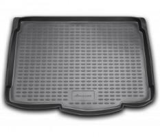 Коврик в багажник для Opel Corsa D '06-14, полиуретановый (Novline / Element) черный