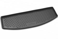 Коврик в багажник для Volkswagen Touran '03-15 (короткий), полиуретановый (Novline / Element) черный