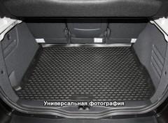 Коврик в багажник для Renault Dokker '14-, 1-й ряд, полиуретановый черный (Novline / Element)